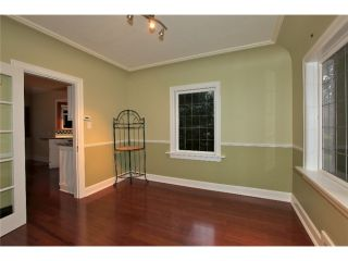 Photo 4: 1337 HAYWOOD AV in West Vancouver: Ambleside House for sale : MLS®# V982971