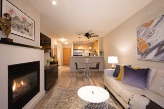 """Photo 1: 404 124 W 1ST Street in North Vancouver: Lower Lonsdale Condo for sale in """"The """"Q"""""""" : MLS®# R2430704"""