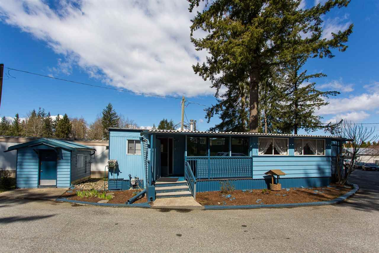 Main Photo: 11 24330 FRASER HIGHWAY in : Aldergrove Langley Manufactured Home for sale : MLS®# R2450337