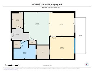 Photo 18: 907 1118 12 Avenue SW in Calgary: Beltline Apartment for sale : MLS®# A1009725