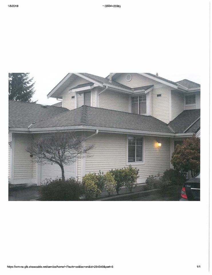 Main Photo: 20 8737 212 STREET in : Walnut Grove Townhouse for sale : MLS®# R2230795