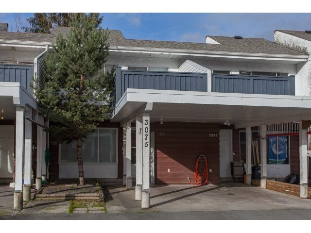 Main Photo: 3075 268 STREET in Aldergrove Langley: Townhouse for sale : MLS®# R2033161