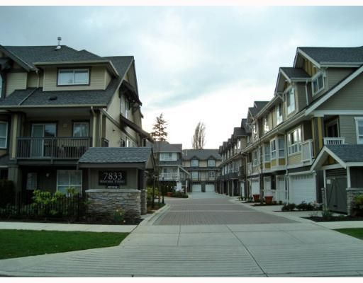Main Photo: 20 7833 HEATHER Street in Richmond: McLennan North Townhouse for sale : MLS®# V654358