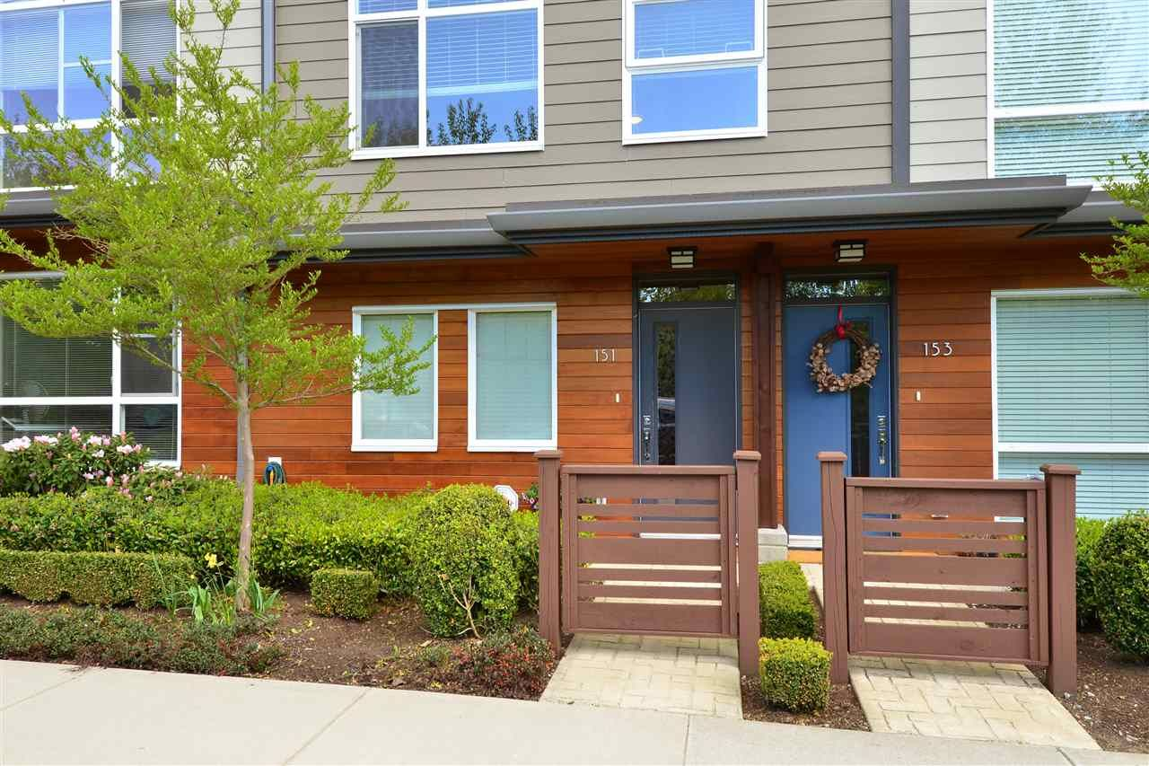 """Main Photo: 151 2228 162 Street in Surrey: Grandview Surrey Townhouse for sale in """"THE BREEZE"""" (South Surrey White Rock)  : MLS®# R2362720"""