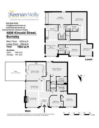 "Photo 19: 4008 KINCAID Street in Burnaby: Burnaby Hospital 1/2 Duplex for sale in ""BURNABY HOSPITAL"" (Burnaby South)  : MLS®# R2346188"