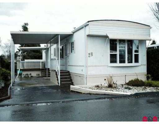 """Main Photo: 15875 20TH Ave in White Rock: King George Corridor Manufactured Home for sale in """"SEARIDGE BAYS"""" (South Surrey White Rock)  : MLS®# F2625048"""