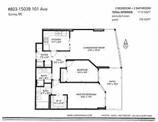 """Photo 28: 803 15038 101 Avenue in Surrey: Guildford Condo for sale in """"Guildford Marquis"""" (North Surrey)  : MLS®# R2617604"""