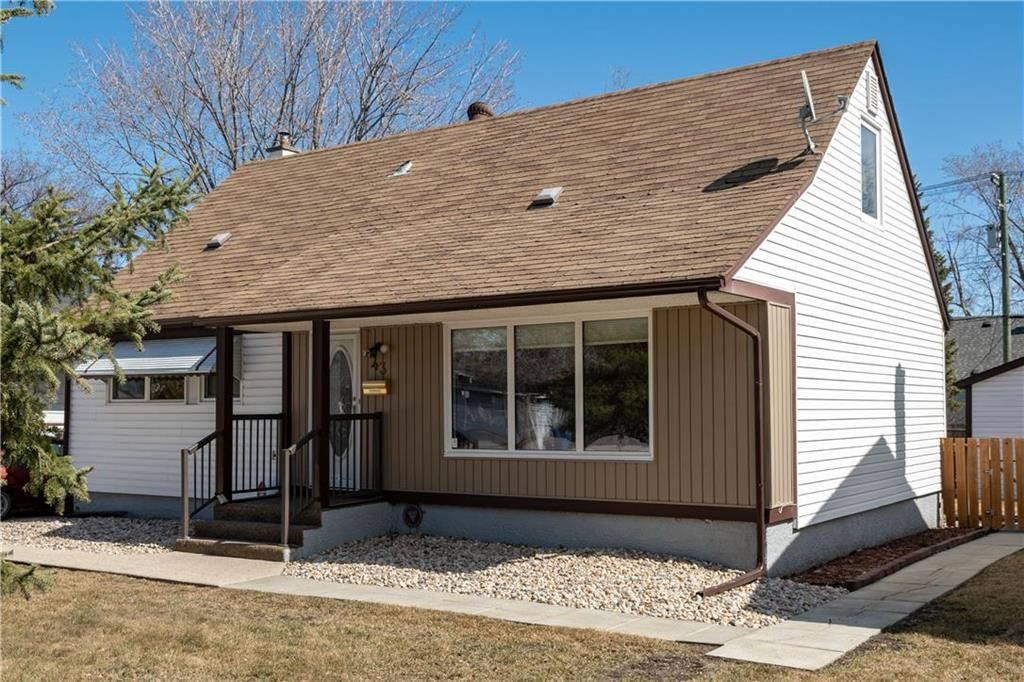 Main Photo: 43 Turner Avenue in Winnipeg: Silver Heights Residential for sale (5F)  : MLS®# 202107862