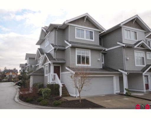 """Main Photo: 39 16760 61ST Avenue in Surrey: Cloverdale BC Townhouse for sale in """"HARVEST LANDING"""" (Cloverdale)  : MLS®# F2903413"""