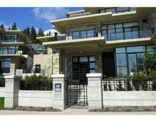 Photo 1: # 101 2275 TWIN CREEK PL in West Vancouver: Condo for sale : MLS®# V857555