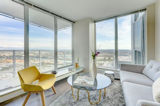 """Photo 3: 3302 488 SW MARINE Drive in Vancouver: Marpole Condo for sale in """"MARINE GATEWAY"""" (Vancouver West)  : MLS®# R2617197"""