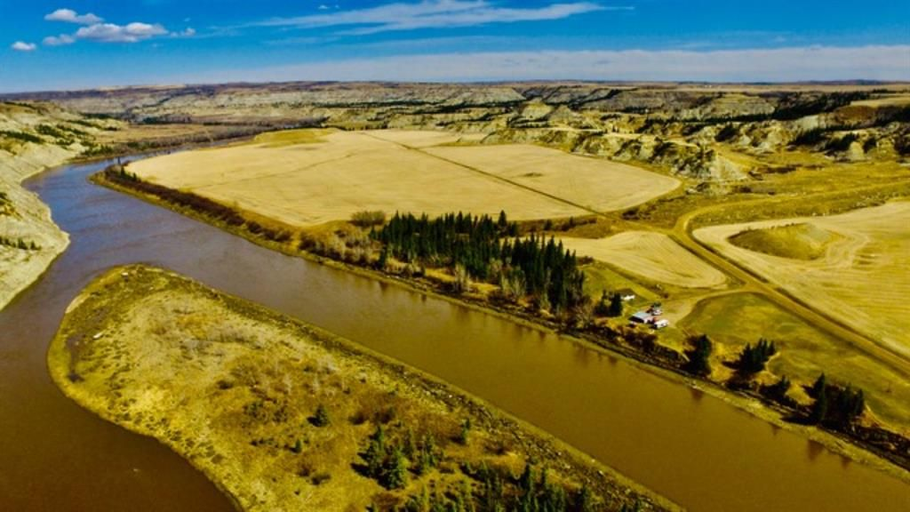 Main Photo: 35046 RR 21-2 in Rural Stettler No. 6, County of: Rural Stettler County Residential Land for sale : MLS®# A1102144