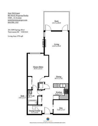 "Photo 12: 201 5099 SPRINGS Boulevard in Tsawwassen: Tsawwassen North Condo for sale in ""TSAWWASSEN SPRINGS"" : MLS®# R2545590"