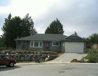 """Photo 1: 6159 HIGHMOOR Place in Sechelt: Sechelt District House for sale in """"THE SHORES"""" (Sunshine Coast)  : MLS®# V612851"""