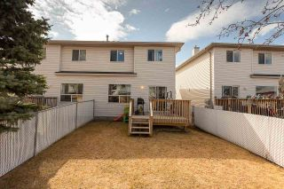 Photo 33: 23 16933 115 Street in Edmonton: Zone 27 House Half Duplex for sale : MLS®# E4239637