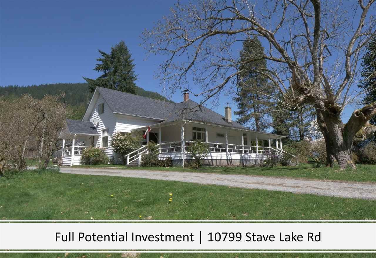 Main Photo: 10799 STAVE LAKE Road in Mission: Durieu House for sale : MLS®# R2583385