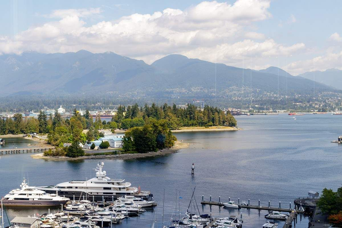 Main Photo: 1603 555 JERVIS STREET in Vancouver: Coal Harbour Condo for sale (Vancouver West)  : MLS®# R2487404