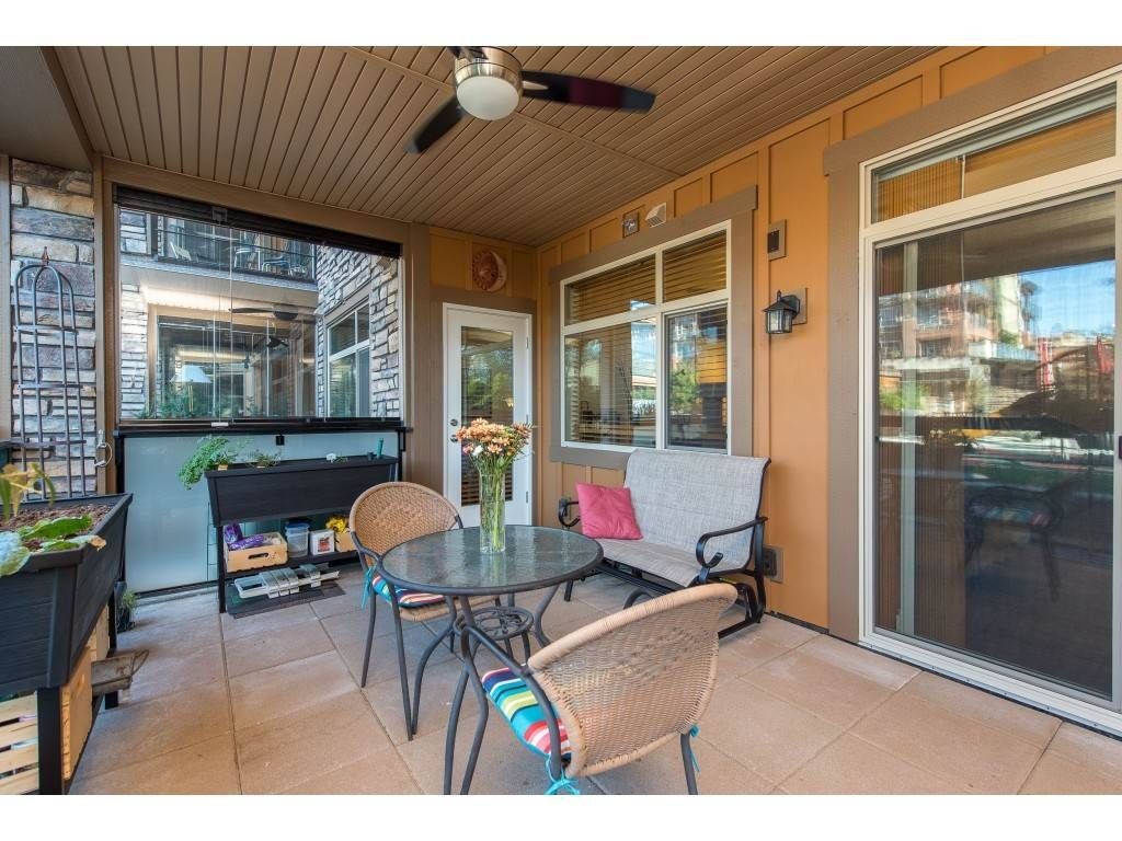 """Photo 28: Photos: A110 20716 WILLOUGHBY TOWN CENTRE Drive in Langley: Willoughby Heights Condo for sale in """"Yorkson Downs"""" : MLS®# R2491391"""