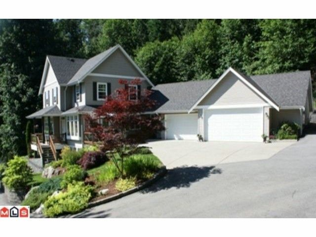 """Main Photo: 4550 UDY Road in Abbotsford: Sumas Mountain House for sale in """"Sumas Mtn."""" : MLS®# F1117342"""