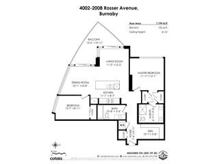 """Photo 40: 4002 2008 ROSSER Avenue in Burnaby: Brentwood Park Condo for sale in """"SOLO DISTRICT - STRATUS"""" (Burnaby North)  : MLS®# R2625548"""