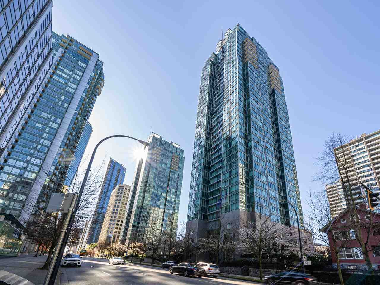 Main Photo: 2407 1288 W GEORGIA STREET in Vancouver: West End VW Condo for sale (Vancouver West)  : MLS®# R2566054