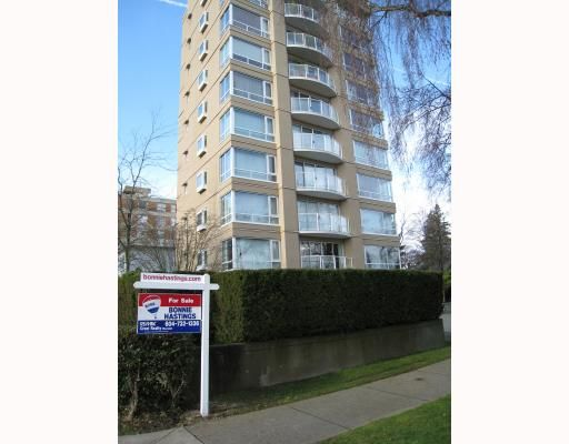 "Main Photo: # 2 2575 TOLMIE ST in Vancouver: Point Grey Condo for sale in ""POINT GREY TOWER"" (Vancouver West)  : MLS®# V804534"