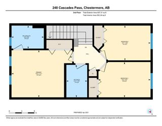 Photo 21: 248 Cascades Pass: Chestermere Row/Townhouse for sale : MLS®# A1096095