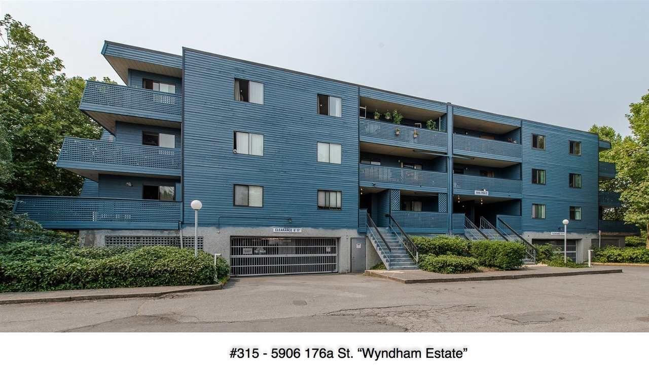 "Main Photo: 315 5906 176A Street in Surrey: Cloverdale BC Condo for sale in ""WYNDHAM ESTATE"" (Cloverdale)  : MLS®# R2194387"