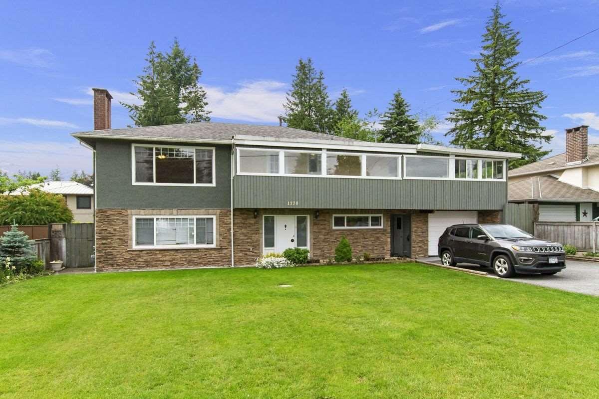 Main Photo: 1770 REGAN Avenue in Coquitlam: Central Coquitlam House for sale : MLS®# R2404276
