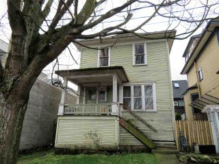 Photo 1: 2314 ONTARIO Street in Vancouver: Mount Pleasant VE House for sale (Vancouver East)  : MLS®# R2236005