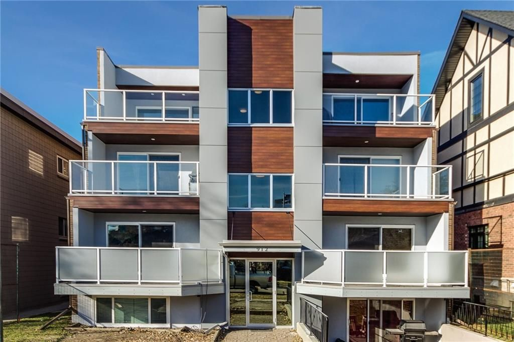 Main Photo: 4 912 3 Avenue NW in Calgary: Sunnyside Apartment for sale : MLS®# C4286304