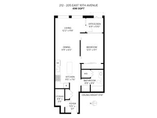"""Photo 29: 212 205 E 10TH Avenue in Vancouver: Mount Pleasant VE Condo for sale in """"The Hub"""" (Vancouver East)  : MLS®# R2621632"""