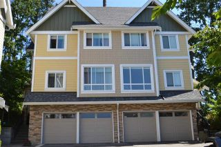 Photo 2: 201 1405 DAYTON Street in Coquitlam: Burke Mountain Townhouse for sale : MLS®# R2480345