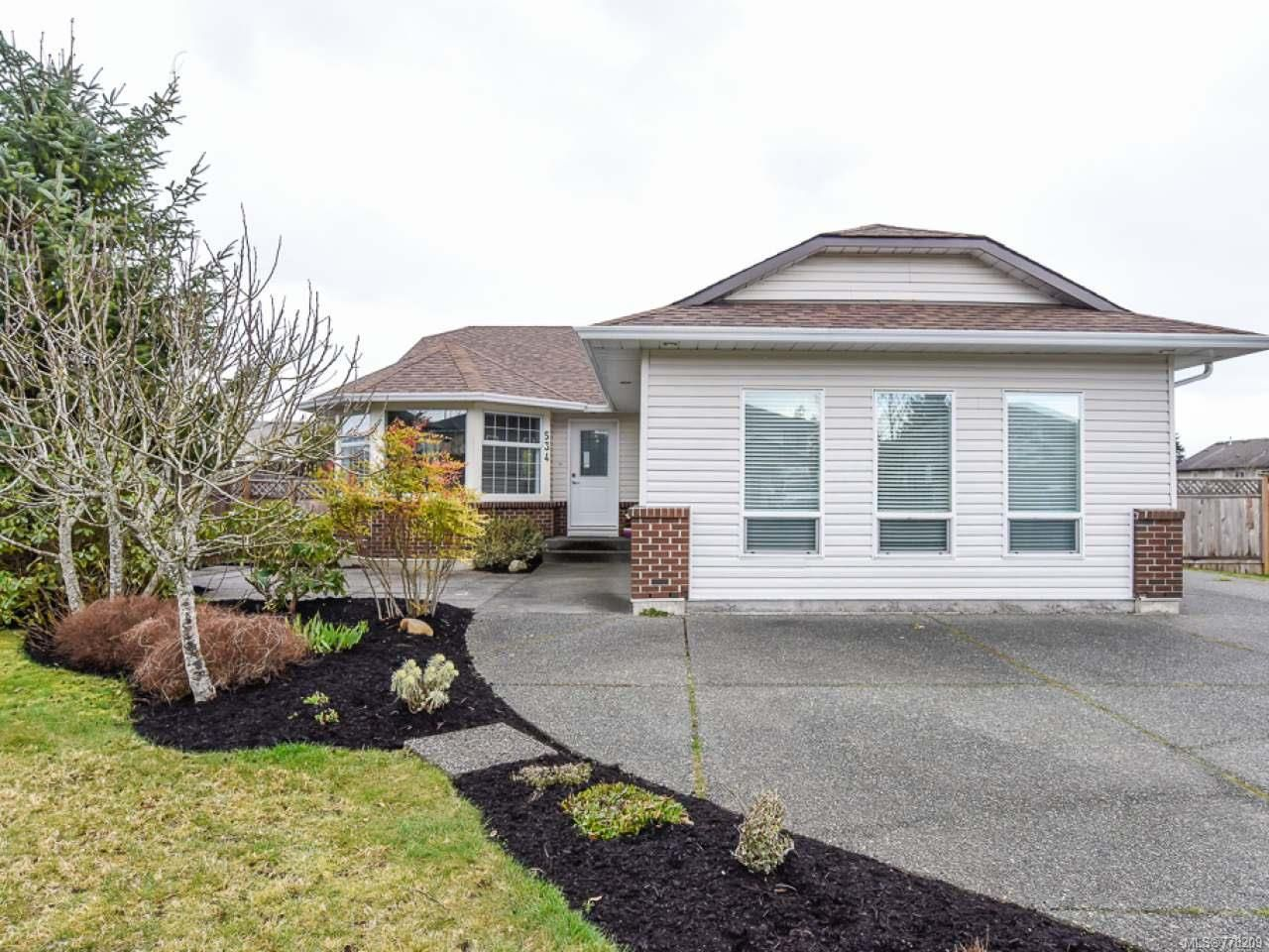 Main Photo: 534 King Rd in COMOX: CV Comox (Town of) House for sale (Comox Valley)  : MLS®# 778209
