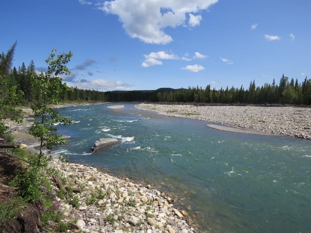 The beautiful Red Deer River in all its glory, looking east.