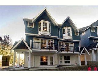"Photo 1: 28 5889 152 Street in Surrey: Sullivan Station Townhouse for sale in ""Sullivan Gardens"" : MLS®# F2809317"