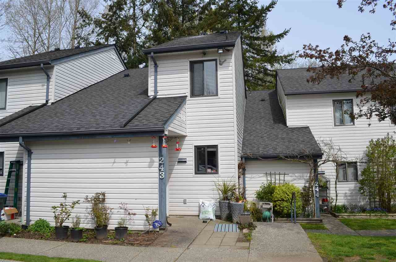 """Main Photo: 243 13608 67TH Avenue in Surrey: East Newton Townhouse for sale in """"COUNTRY HOUSE ESTATES"""" : MLS®# R2258899"""