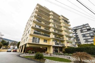 """Photo 1: 504 2187 BELLEVUE Avenue in West Vancouver: Dundarave Condo for sale in """"SUFFSIDE TOWERS"""" : MLS®# R2518277"""
