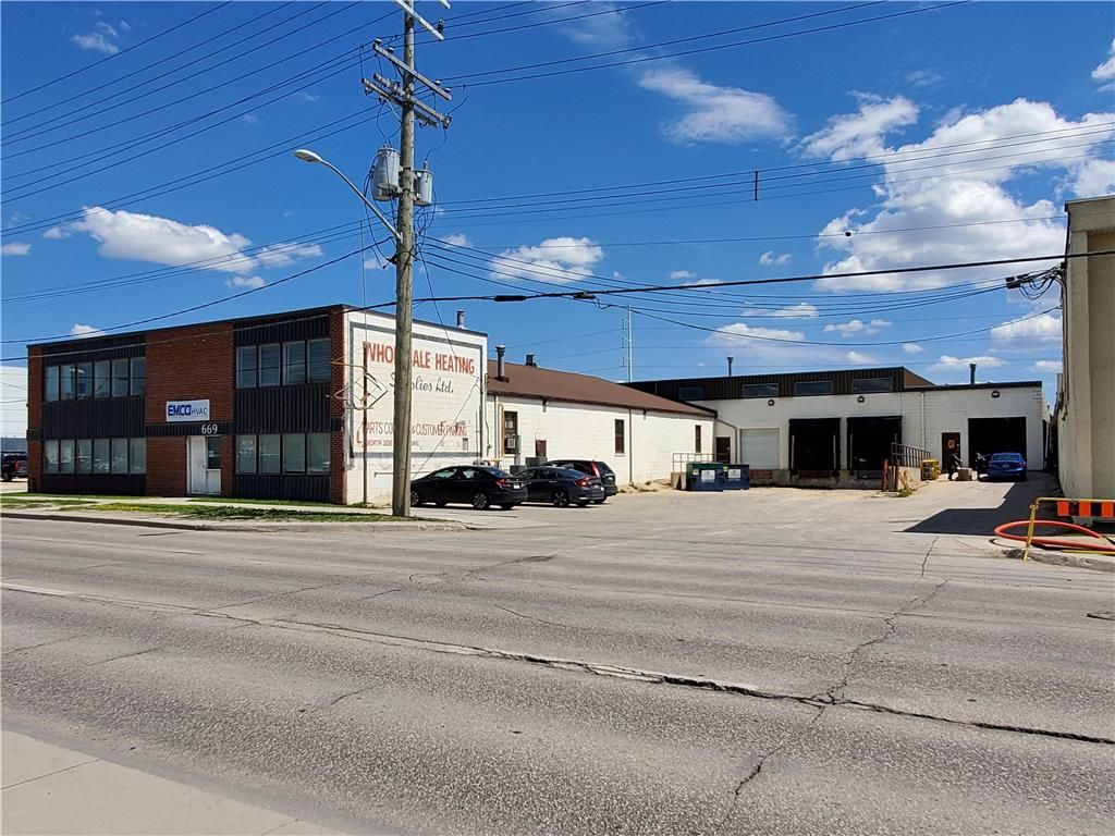Main Photo: 669 Century Street in Winnipeg: Industrial / Commercial / Investment for sale (5D)  : MLS®# 1932799