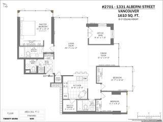 "Photo 24: 2701 1331 ALBERNI Street in Vancouver: West End VW Condo for sale in ""THE LIONS"" (Vancouver West)  : MLS®# R2576100"