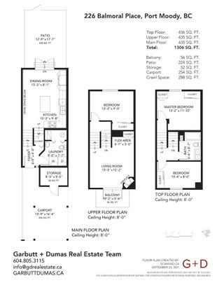Photo 28: 226 BALMORAL Place in Port Moody: North Shore Pt Moody Townhouse for sale : MLS®# R2622206