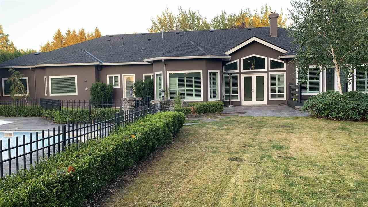 Main Photo: 19539 8 Avenue in Surrey: Hazelmere House for sale (South Surrey White Rock)  : MLS®# R2540752