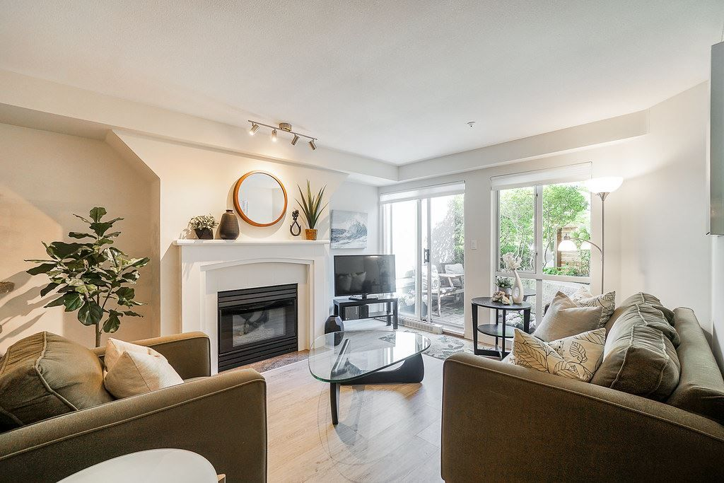 Main Photo: 108 8420 JELLICOE Street in Vancouver: South Marine Condo for sale (Vancouver East)  : MLS®# R2399669