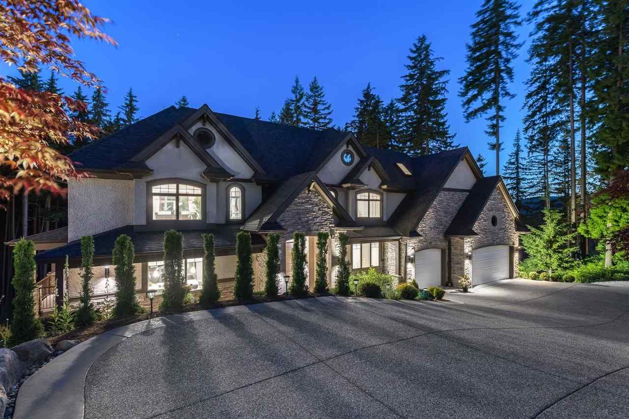 Main Photo: 1418 CRYSTAL CREEK Drive: Anmore House for sale (Port Moody)  : MLS®# R2591410