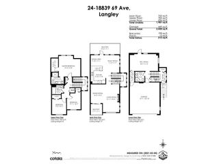 """Photo 29: 24 18839 69 Avenue in Surrey: Clayton Townhouse for sale in """"Starpoint 2"""" (Cloverdale)  : MLS®# R2576938"""