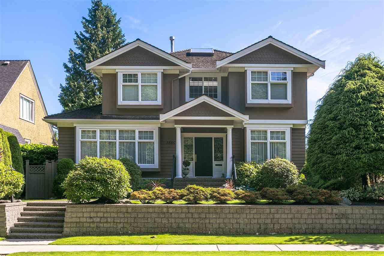 Main Photo: 3886 W 33RD Avenue in Vancouver: Dunbar House for sale (Vancouver West)  : MLS®# R2187588