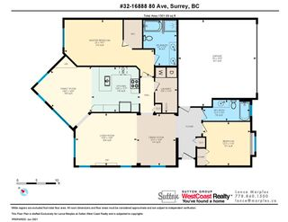 """Photo 23: 32 16888 80 Avenue in Surrey: Fleetwood Tynehead Townhouse for sale in """"Stonecroft"""" : MLS®# R2592376"""