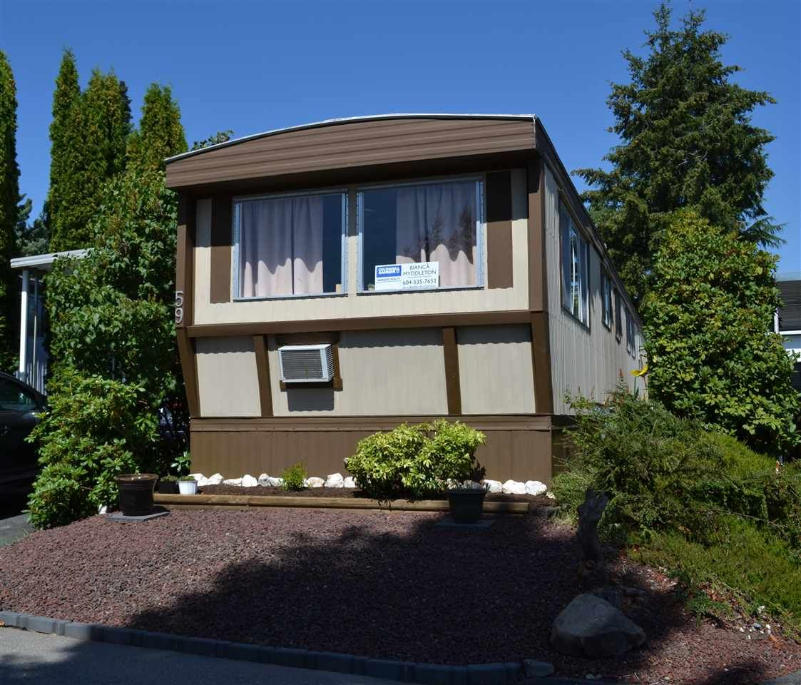 """Main Photo: 59 1840 160 Street in Surrey: King George Corridor Manufactured Home for sale in """"Breakaway Bays"""" (South Surrey White Rock)  : MLS®# R2094772"""