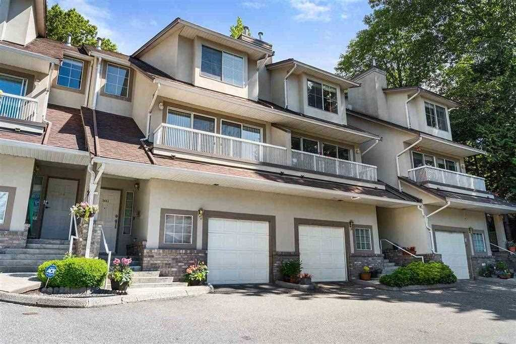 """Main Photo: 3461 AMBERLY Place in Vancouver: Champlain Heights Townhouse for sale in """"TIFFANY RIDGE"""" (Vancouver East)  : MLS®# R2587797"""