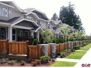 """Photo 1: 34 20460 66TH Avenue in Langley: Willoughby Heights Townhouse for sale in """"Willow Edge"""" : MLS®# F1201114"""